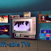 Shift-able TVs