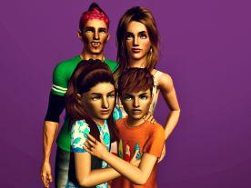 Giovanni, Ramona, Dayna & Stefan